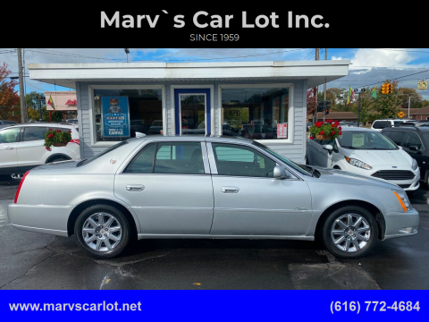 2010 Cadillac DTS for sale at Marv`s Car Lot Inc. in Zeeland MI