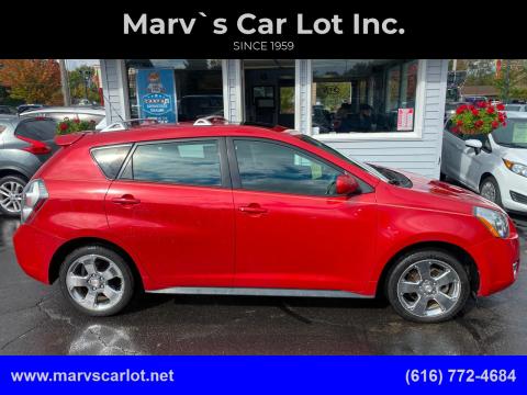 2009 Pontiac Vibe for sale at Marv`s Car Lot Inc. in Zeeland MI