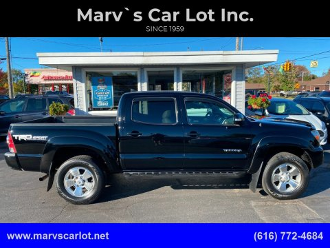 2014 Toyota Tacoma for sale at Marv`s Car Lot Inc. in Zeeland MI