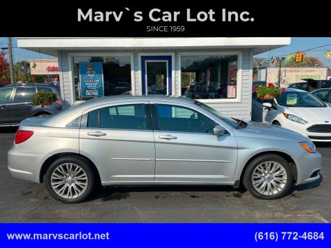 2012 Chrysler 200 for sale at Marv`s Car Lot Inc. in Zeeland MI