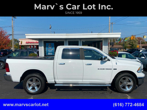 2012 RAM Ram Pickup 1500 for sale at Marv`s Car Lot Inc. in Zeeland MI