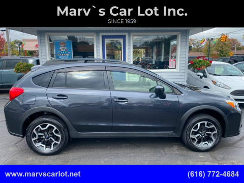 2017 Subaru Crosstrek for sale at Marv`s Car Lot Inc. in Zeeland MI