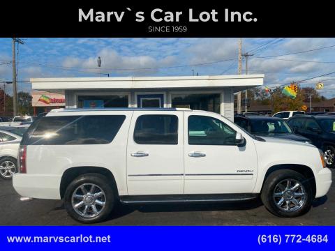 2012 GMC Yukon XL for sale at Marv`s Car Lot Inc. in Zeeland MI