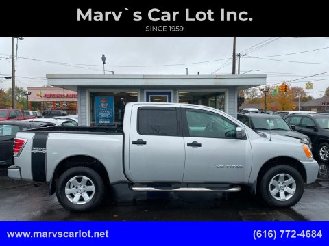 2009 Nissan Titan for sale at Marv`s Car Lot Inc. in Zeeland MI