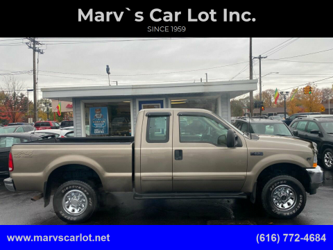 2002 Ford F-250 Super Duty for sale at Marv`s Car Lot Inc. in Zeeland MI