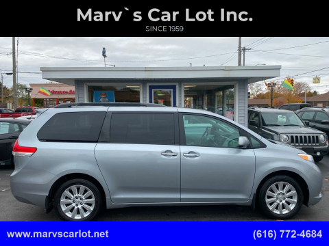 2011 Toyota Sienna for sale at Marv`s Car Lot Inc. in Zeeland MI