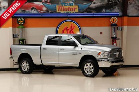 2016 RAM Ram Pickup 2500 for sale in Addison, TX