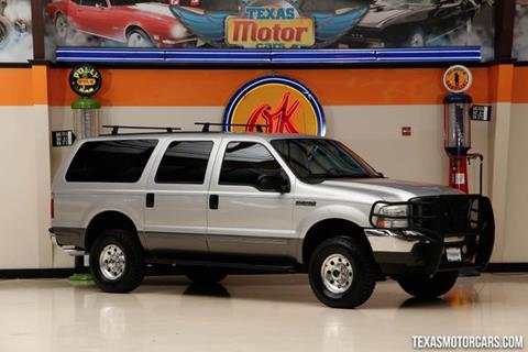 2004 Ford Excursion for sale in Addison, TX