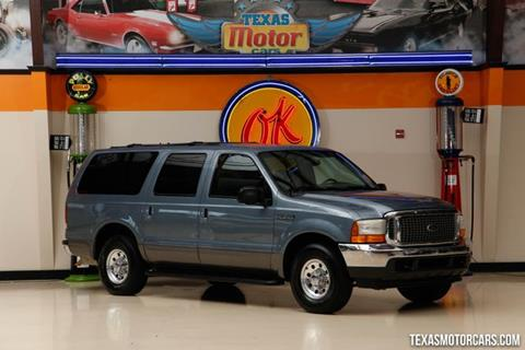 2001 Ford Excursion for sale in Addison, TX