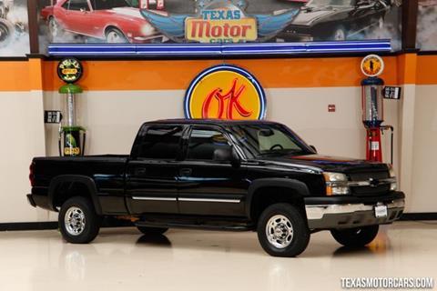 2005 Chevrolet Silverado 1500HD for sale in Addison, TX
