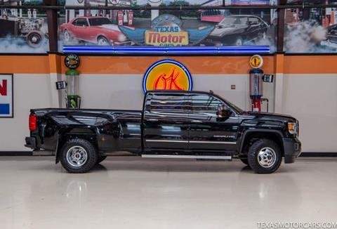 2016 GMC Sierra 3500HD for sale in Addison, TX