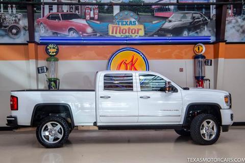 2015 GMC Sierra 2500HD for sale in Addison, TX