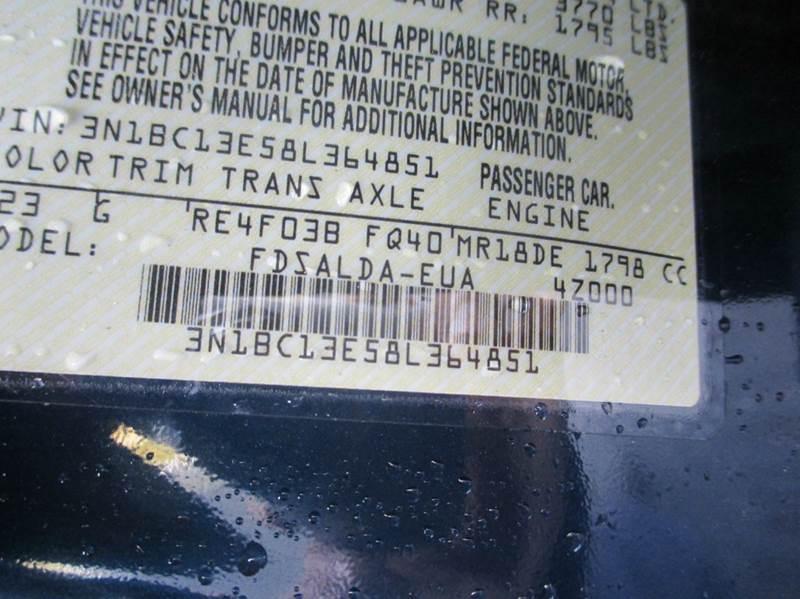 2008 Nissan Versa 1.8 S 4dr Hatchback 4A - Passaic NJ