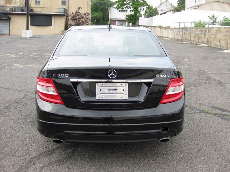 2009 Mercedes-Benz C-Class C 300 Sport 4MATIC AWD 4dr Sedan - Passaic NJ