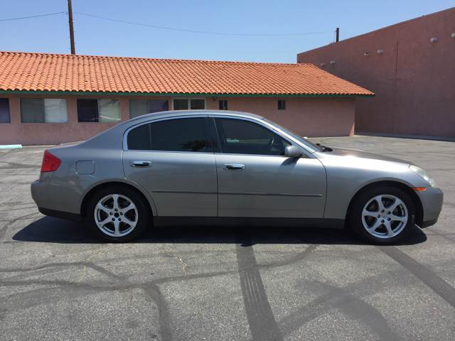 2004 Infiniti G35 Rwd 4dr Sedan w/Leather - Bellflower CA