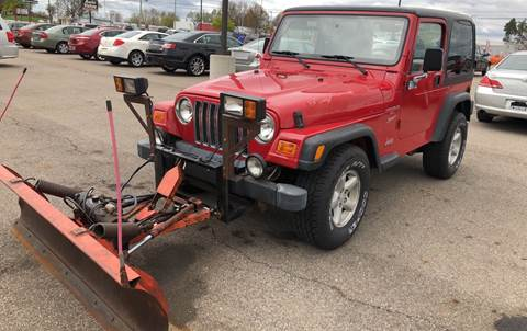 1999 Jeep Wrangler for sale in Greenville, MI