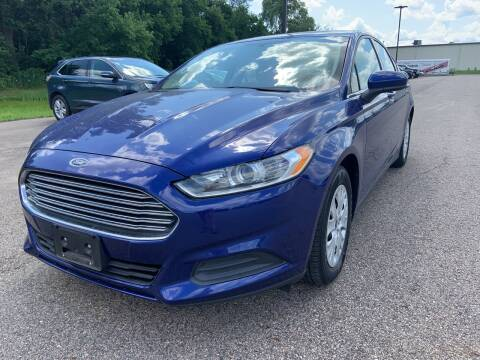 2014 Ford Fusion for sale at Blake Hollenbeck Auto Sales in Greenville MI