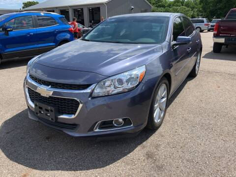 2015 Chevrolet Malibu for sale at Blake Hollenbeck Auto Sales in Greenville MI