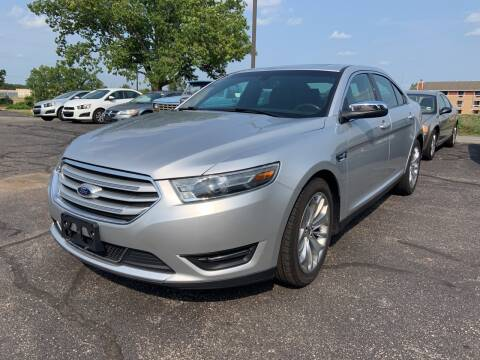 2016 Ford Taurus for sale at Blake Hollenbeck Auto Sales in Greenville MI