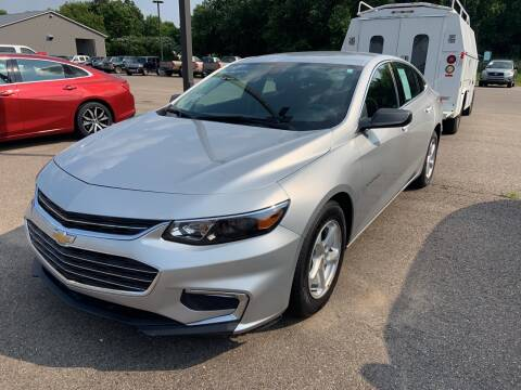 2018 Chevrolet Malibu for sale at Blake Hollenbeck Auto Sales in Greenville MI