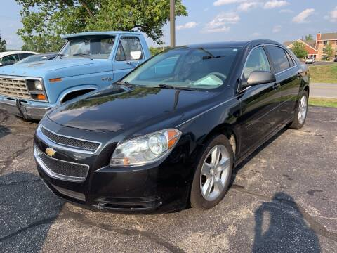 2012 Chevrolet Malibu for sale at Blake Hollenbeck Auto Sales in Greenville MI