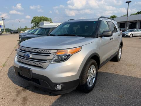 2012 Ford Explorer for sale at Blake Hollenbeck Auto Sales in Greenville MI