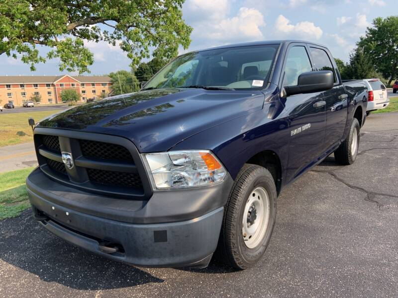 2012 RAM Ram Pickup 1500 for sale at Blake Hollenbeck Auto Sales in Greenville MI