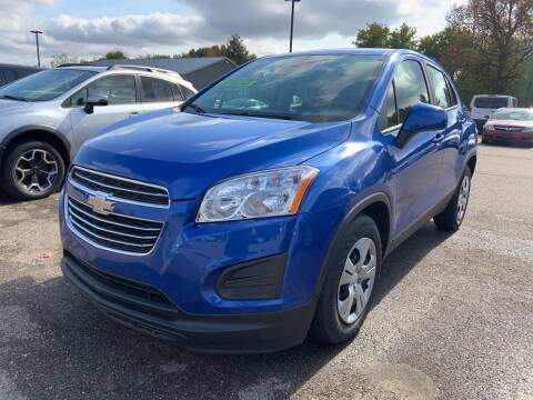 2015 Chevrolet Trax for sale at Blake Hollenbeck Auto Sales in Greenville MI