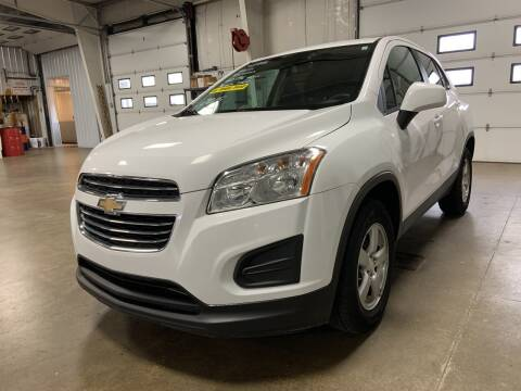 2016 Chevrolet Trax for sale at Blake Hollenbeck Auto Sales in Greenville MI