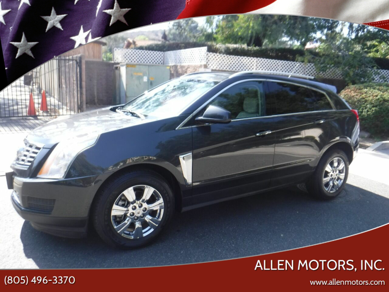 2014 Cadillac SRX for sale at Allen Motors, Inc. in Thousand Oaks CA
