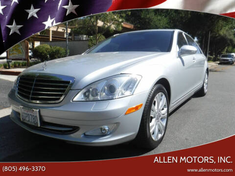 2009 Mercedes-Benz S-Class for sale at Allen Motors, Inc. in Thousand Oaks CA