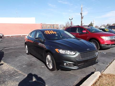 2016 Ford Fusion for sale at Dietsch Sales & Svc Inc in Edgerton OH