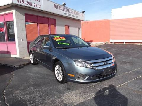 2012 Ford Fusion for sale at Dietsch Sales & Svc Inc in Edgerton OH