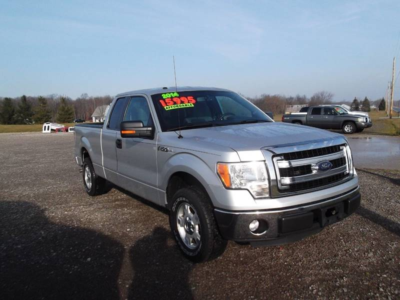 2014 Ford F-150 4x2 XLT 4dr SuperCab Styleside 6.5 ft. SB - Edgerton OH