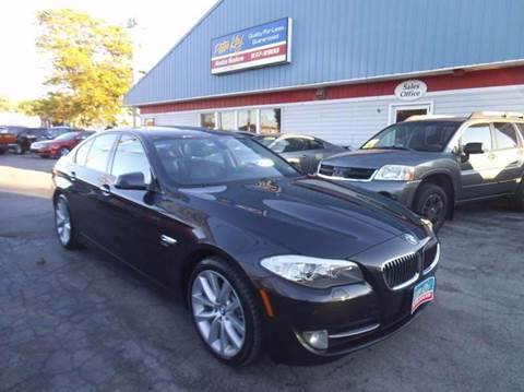 2011 BMW 5 Series for sale at Peter Kay Auto Sales in Alden NY