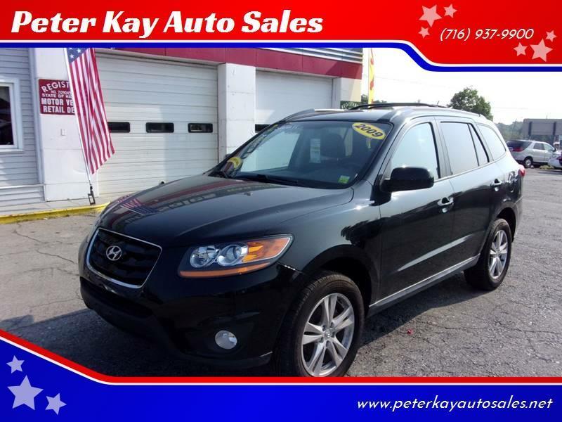 2010 Hyundai Santa Fe Se In Alden Ny Peter Kay Auto Sales