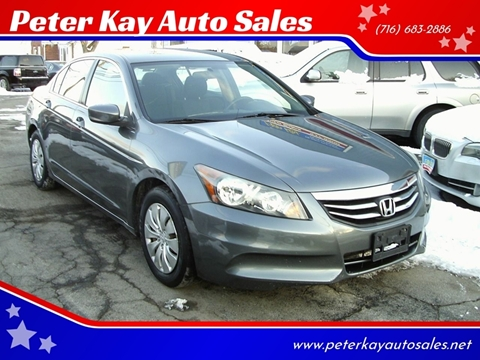 2011 Honda Accord for sale in Alden, NY