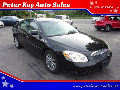 2009 Buick Lucerne for sale at Peter Kay Auto Sales in Alden NY
