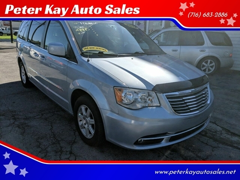 2012 Chrysler Town and Country for sale at Peter Kay Auto Sales in Alden NY