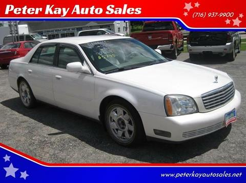 2005 Cadillac DeVille for sale at Peter Kay Auto Sales in Alden NY