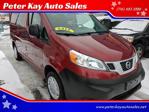 2015 Nissan NV200 for sale at Peter Kay Auto Sales in Alden NY