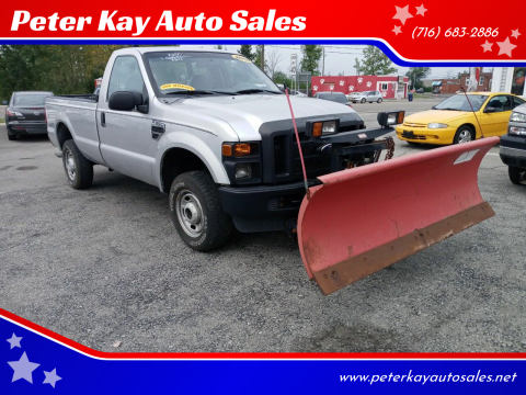 2010 Ford F-250 Super Duty for sale at Peter Kay Auto Sales in Alden NY