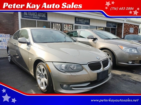 2011 BMW 3 Series for sale at Peter Kay Auto Sales in Alden NY