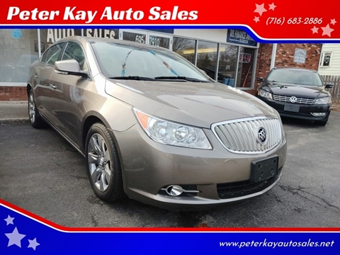 2010 Buick LaCrosse for sale at Peter Kay Auto Sales in Alden NY