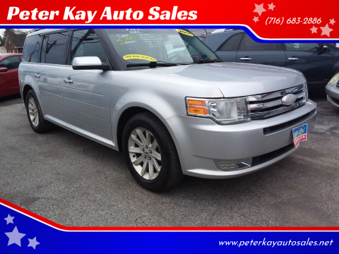2011 Ford Flex for sale at Peter Kay Auto Sales in Alden NY