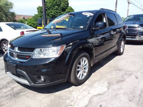 2014 Dodge Journey for sale at Peter Kay Auto Sales in Alden NY