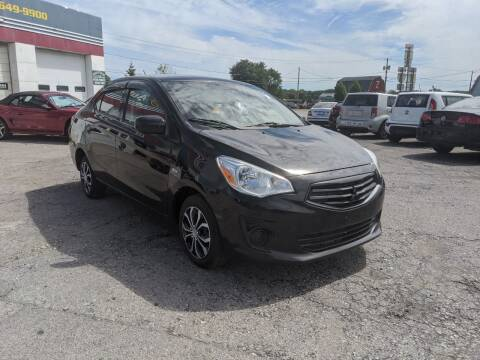 2018 Mitsubishi Mirage G4 for sale at Peter Kay Auto Sales in Alden NY