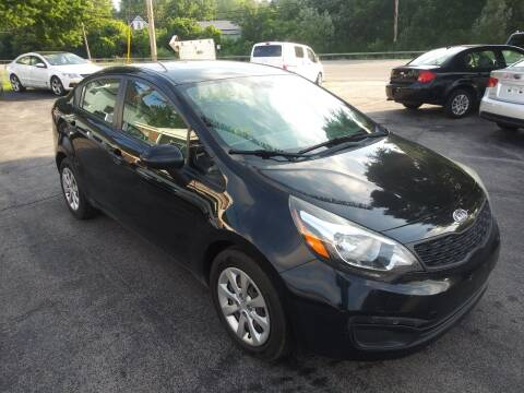 2012 Kia Rio for sale at Peter Kay Auto Sales in Alden NY