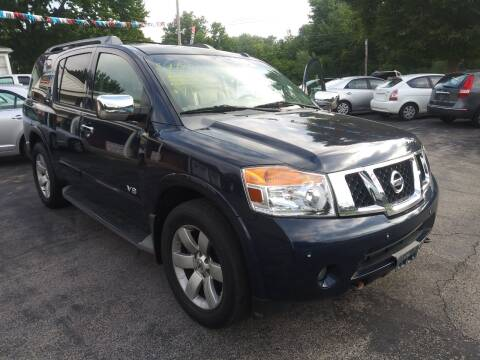 2008 Nissan Armada for sale at Peter Kay Auto Sales in Alden NY