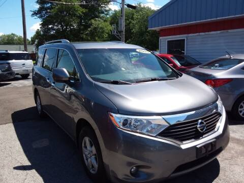2015 Nissan Quest for sale at Peter Kay Auto Sales in Alden NY